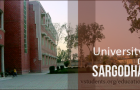 Sargodha university admission