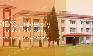 PIEAS University Islamabad Admission 2017 Last Date and Fee Structure