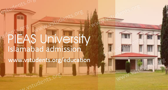 Pieas University Islamabad Admission