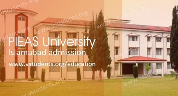 Pieas University Islamabad Admission