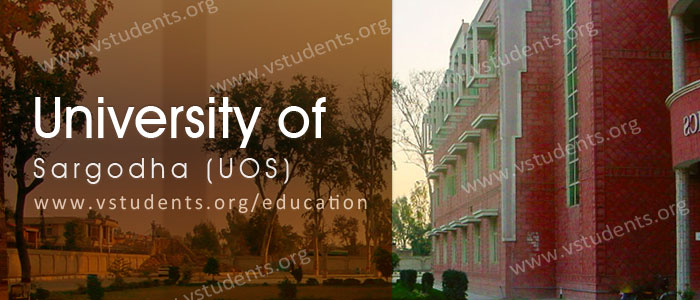University of Sargodha Admission 2020