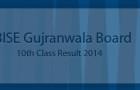 matric result gujranwala board