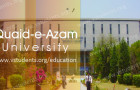 Quaid-e-Azam University Islamabad Admission