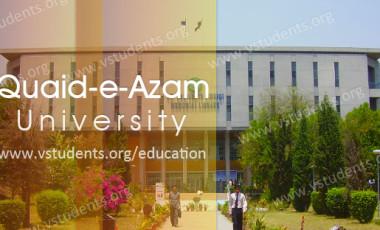Quaid-e-Azam University Islamabad Admission 2017 Last Date and Fee Structure