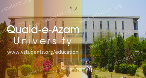Quaid-e-Azam University Islamabad Admission 2019