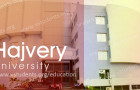 Hajvery University Admissions