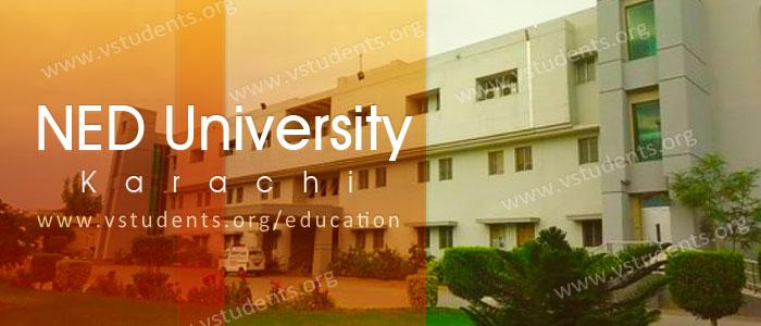 NED University Karachi Admission
