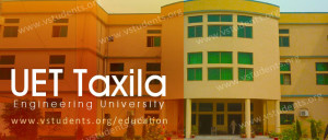 UET Taxila Admission 2018