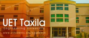 UET Taxila Admission 2018