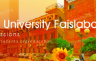 Government College Faislabad Admissions