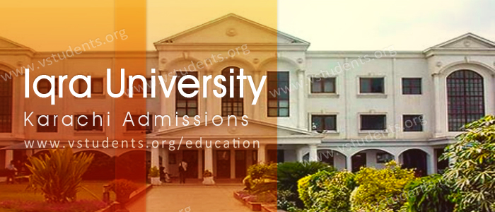 Iqra university Karachi Admissions 2018