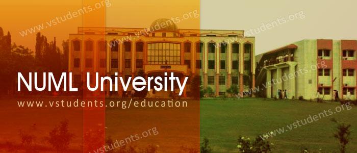 NUML University Admission 2019