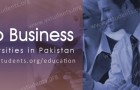 Top Business Universities in Pakistan
