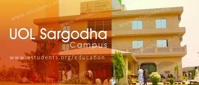 UOL Sargodha Campus Admissions 2020