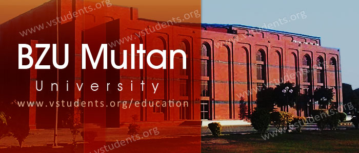 BZU Multan Admission 2019