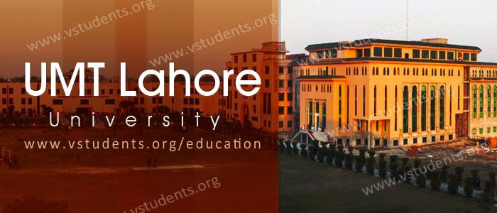 UMT Lahore Admission 2018