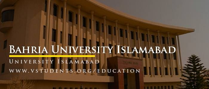 Bahria University Islamabad Admission 2018 Last Date and Fee Structure