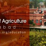 UAF University of Agriculture Faisalabad Admission 2017 Last Date, Fee Structure and Form