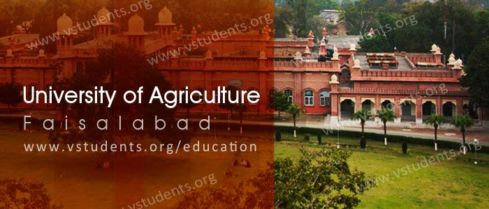 University of Agriculture Faisalabad Admission 2018 Last Date & Fee Structure