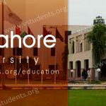 UHS Lahore Admission 2019 Last Date Fee Structure and Entry Test Details