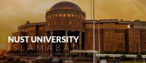 NUST University Islamabad Admissions 2019