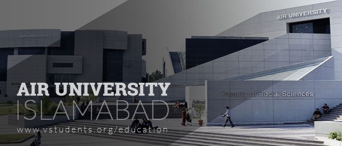AU Air University Islamabad Admission 2020 Last Date and Fee Structure