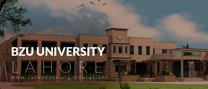 BZU-Lahore-Admissions 2020