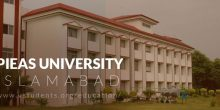 PIEAS Admission 2018 Last Date and Fee Structure