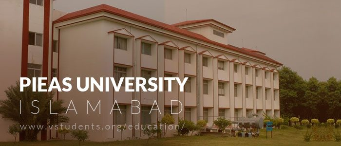 PIEAS Admission 2020 Last Date and Fee Structure