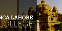 NCA Lahore Admission 2020 Last Date and Short Courses