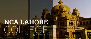 NCA College Lahore Admissions 2019