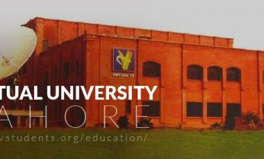Virtual University Admission 2019 Last Date and Fee Structure