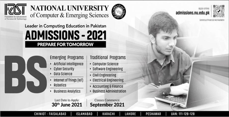 Fast National University Admission